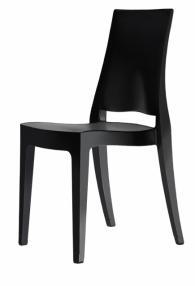 Елегантен черен стол