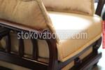 холна гарнитура с видим дървен корпус Нешвил