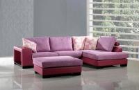 Стилна холна гарнитура в розово